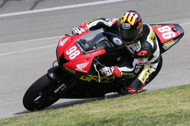 GEICO Motorcycle Rider Jake Zemke