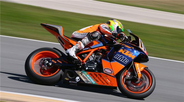 KTM/HMC Superbike Racing Team To Compete In GEICO Motorcycle Superbike Shootout Series