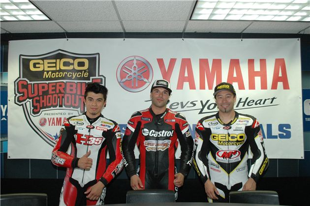 Fong Claims Dynojet Pro Sportbike Pole Position At The GEICO Motorcycle Superbike Shootout At Auto Club Speedway