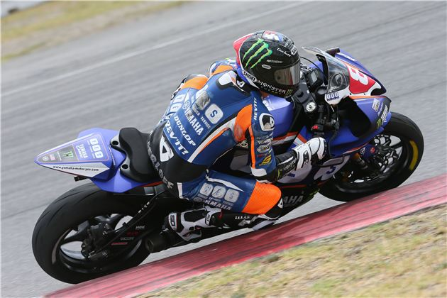 Gerloff Breaks Lap Record, Takes Dynojet Pro Sportbike Pole Position At Arai Mountain Nationals