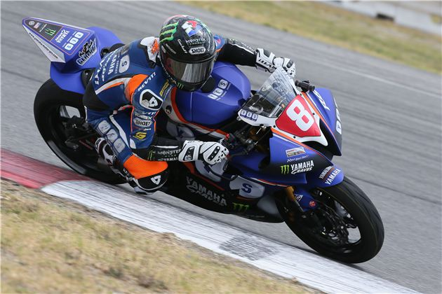 Dynojet Pro Sportbike: Gerloff Quickest In His First Session Ever At Sonoma Raceway