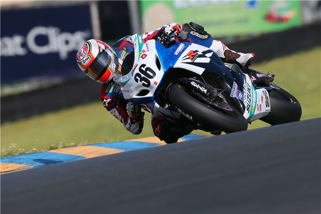 Martin Cardenas (36) in action at Sonoma Raceway. Photo by Brian J. Nelson.
