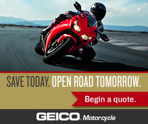 Save With GEICO Motorcycle Insurance